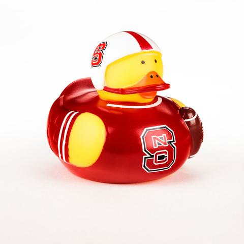 "NC State Wolfpack 4"" Rubber Duck"