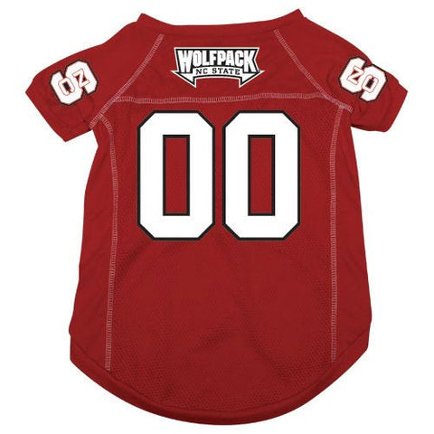 NC State Wolfpack Red Mesh Pet Jersey