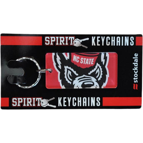 NC State Wolfpack Wolf  Head Mega Acrylic Keychain