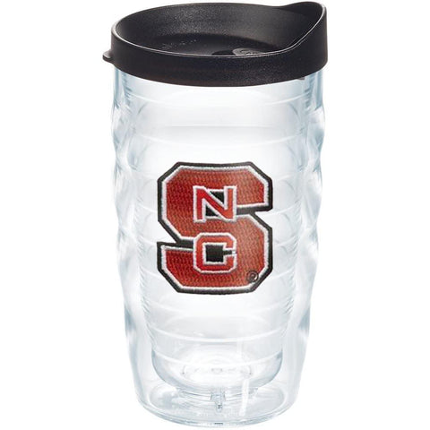 NC State Wolfpack 10oz Block S Wavy Tervis Tumbler w/Lid
