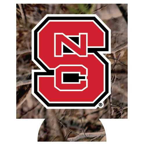 NC State Wolfpack Collapsible Camo Can Hugger