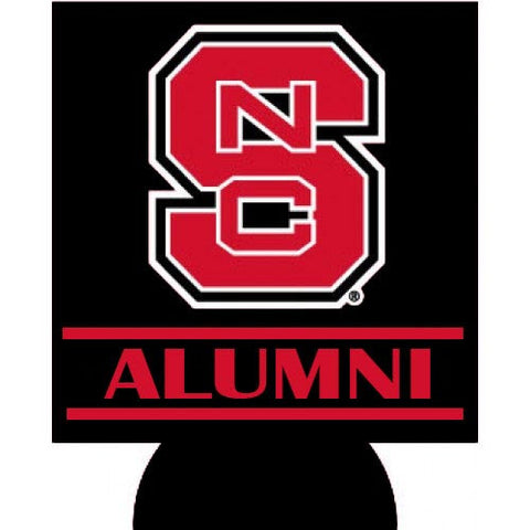 NC State Wolfpack Alumni Black Can Coozie