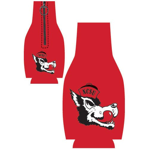 NC State Wolfpack Slobbering Wolf Bottle Coozie