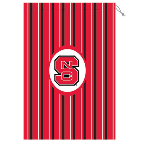 NC State Wolfpack Striped Laundry Bag