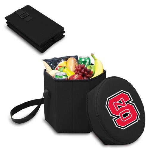 NC State Wolfpack Black Bongo Collapsible Seat Cooler