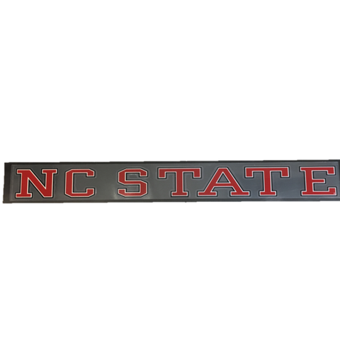 NC State Wolfpack Strip Decal