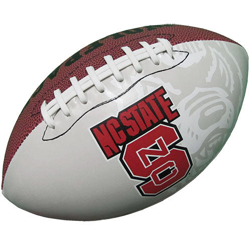 NC State Wolfpack 618 Autograph Football