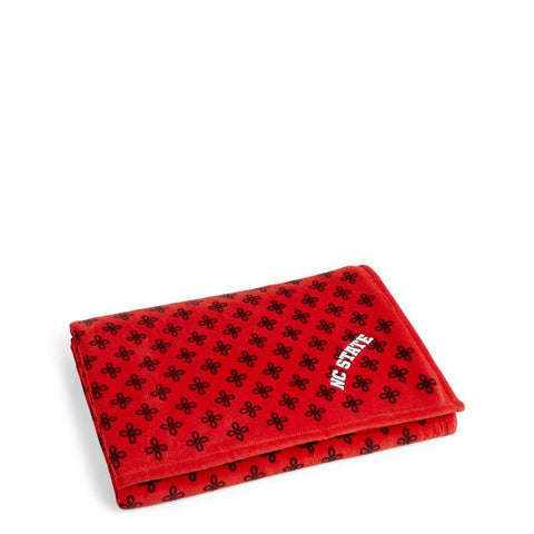 NC State Wolfpack Vera Bradley Red and Black XL Throw Blanket