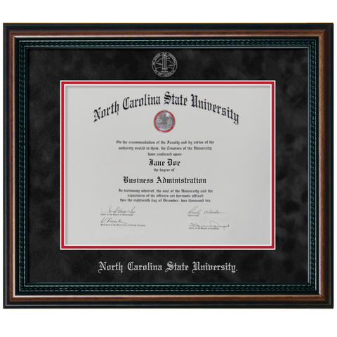 NC State Wolfpack New England Diploma Frame - 7017-1