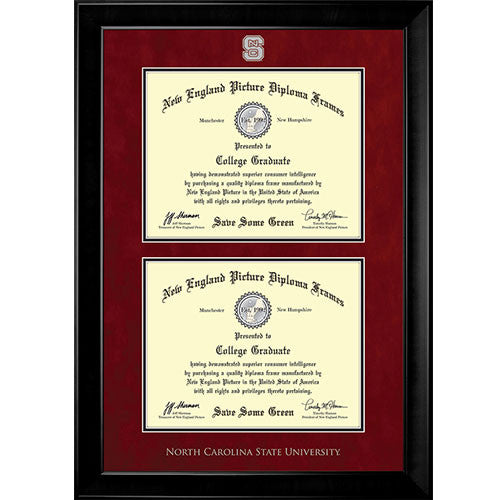 NC State Wolfpack New England TH Diploma Frame- 7071