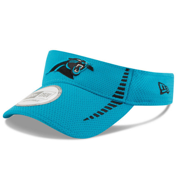 Carolina Panthers 2016 New Era Blue Speed Adjustable Visor