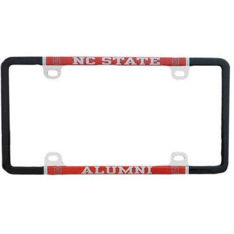 NC State Wolfpack Alumni Thin Rimmed License Plate Frame