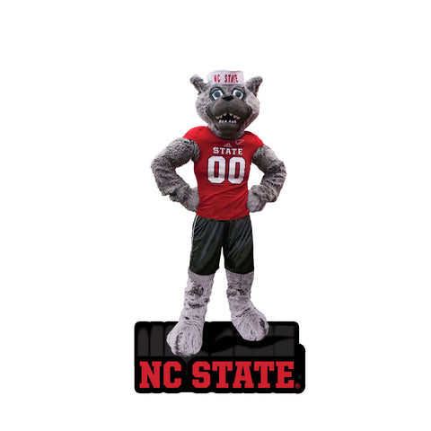 NC State Wolfpack Mr Wuf Mascot Statue