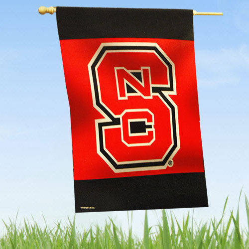 "NC State Wolfpack Vibrant 27""X37"" Vertical Flag"