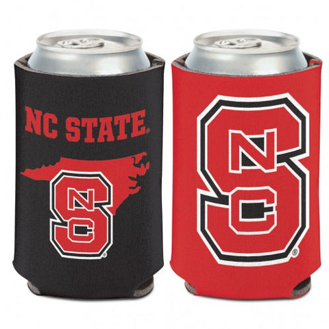 NC State Wolfpack 2-Sided State Outline Koozie