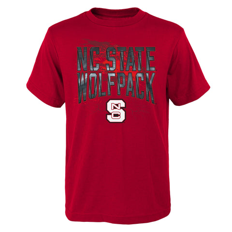 NC State Wolfpack Kid's Red Molecular Freeze T-Shirt