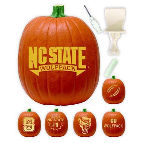 NC State Wolfpack Pumpkin Carving Kit