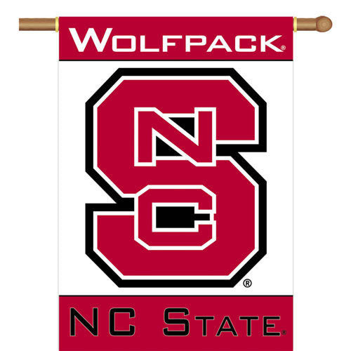 "NC State Wolfpack Wolfpack 28"" X 40"" Banner"