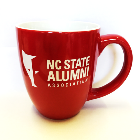 NC State Wolfpack Red Alumni Association Bistro Mug