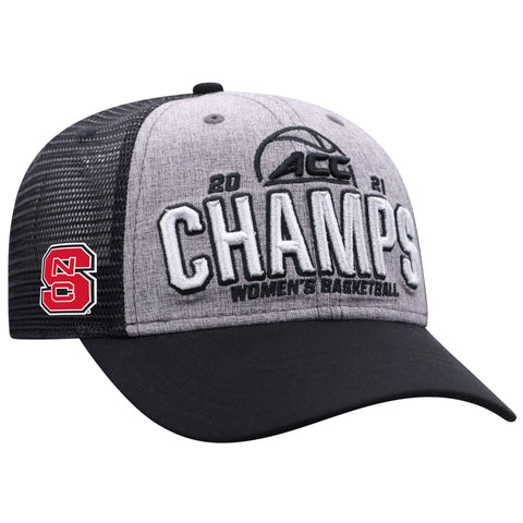 NC State Wolfpack 2021 ACC Women's Basketball Tournament Champions Hat