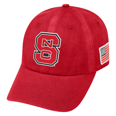 NC State Wolfpack TOW Red Anthem Adjustable Hat