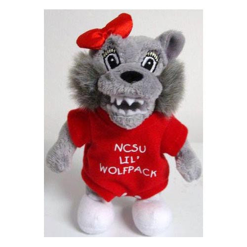 NC State Wolfpack Plush Baby Mrs. Wolf