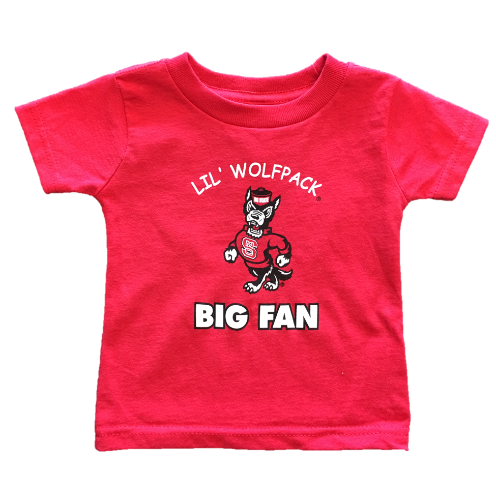 NC State Wolfpack Infant Red Lil Wolfpack T-Shirt