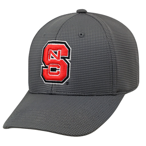 NC State Wolfpack TOW Charcoal Booster Plus One Size Hat