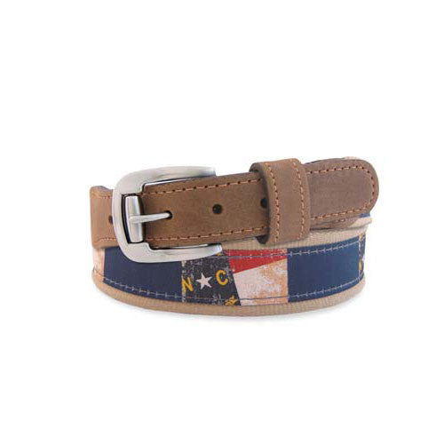North Carolina Vintage Ribbon Belt