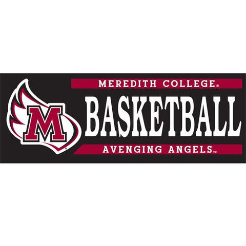 Meredith College Basketball Decal
