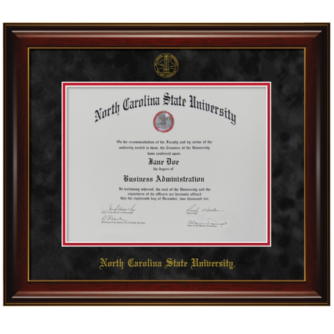 NC State Wolfpack New England Diploma Frame - 7016-1