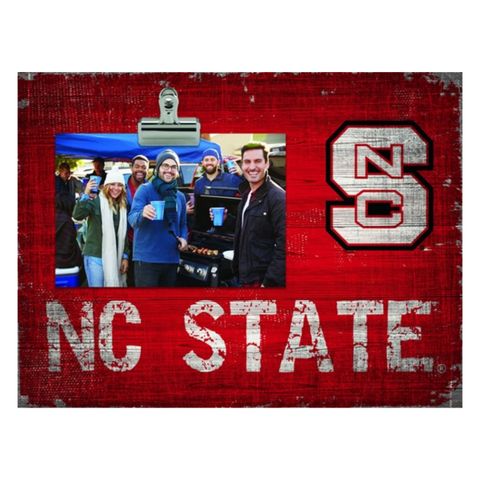 "NC State Wolfpack Red 4""x6"" Clip It Picture Frame"