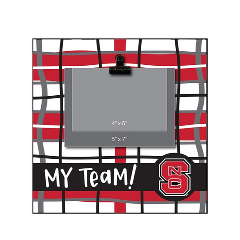 NC State Wolfpack 11x11 My Team! Picture Frame