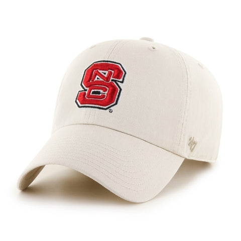 NC State Wolfpack Natural 47 Brand Clean Up Adjustable Block S Hat