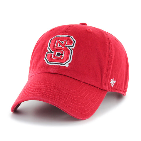 NC State Wolfpack Red 47 Brand Clean Up Adjustable Block S 2 Hat