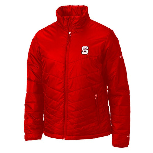 NC State Wolfpack Columbia Red Men's Mighty Lite Jacket