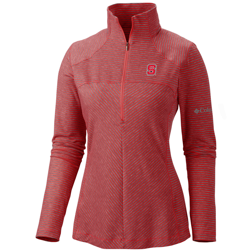 NC State Columbia Women's Layer First Half Zip