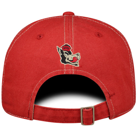 NC State Wolfpack TOW Red Canvas Vault Block S Hat