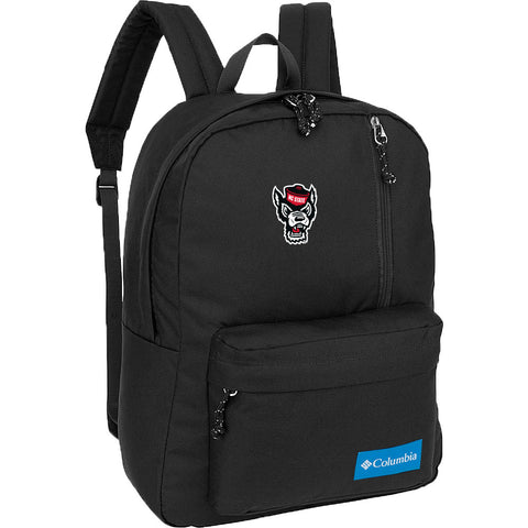 NC State Wolfpack Columbia Black Wolfhead Sun Pass Day Pack