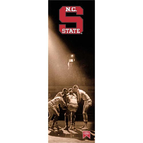 NC State Wolfpack Basketball Almanac Mill Wood Art