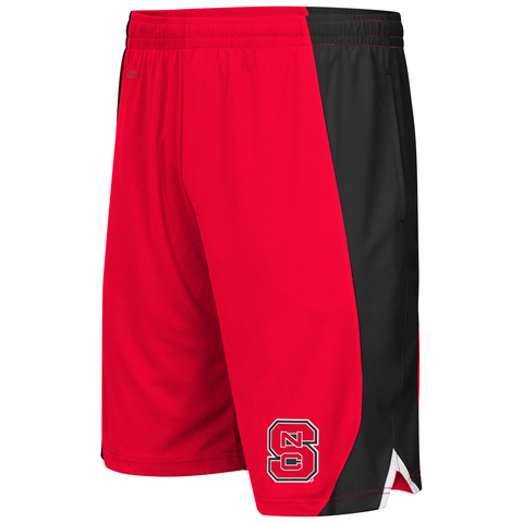 NC State Wolfpack Men's Red Flagged Shorts