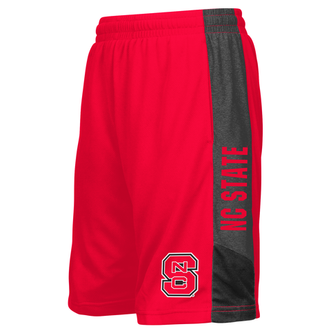 NC State Wolfpack Youth Red Strike Shorts