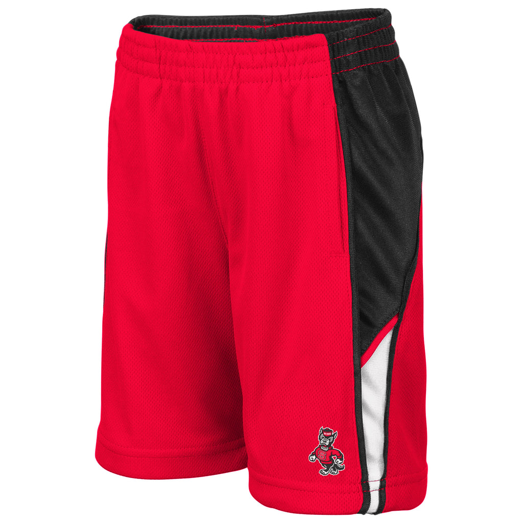NC State Wolfpack Toddler Red Duncan Shorts