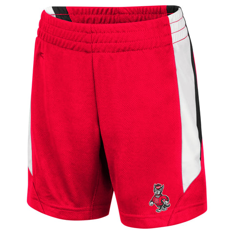 NC State Wolfpack Toddler Boy's Red Rubble Shorts