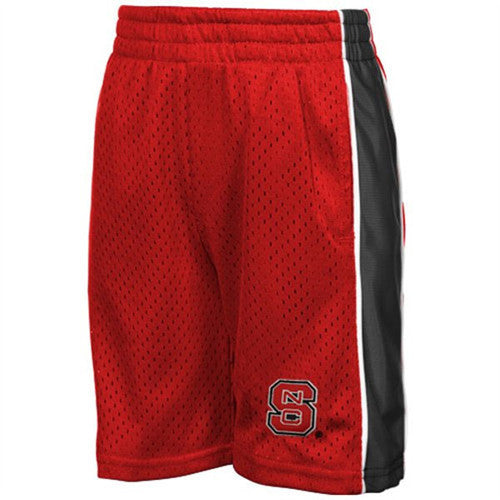 NC State Wolfpack Red Toddler Vector Shorts