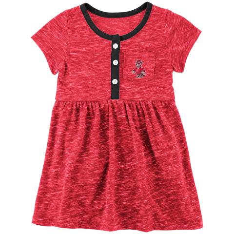 NC State Wolfpack Infant Red Nuess Dress