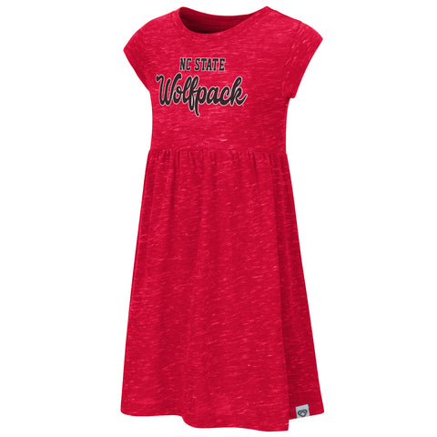 NC State Wolfpack Toddler Girl's Red Gwen Dress