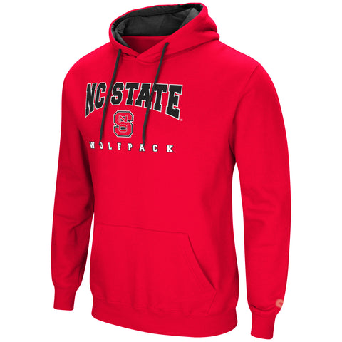 NC State Wolfpack Men's Red Playbook Hooded Sweatshirt