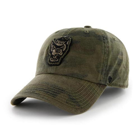 NC State Wolfpack 47 Brand® Movement Camo OHT Adjustable Hat