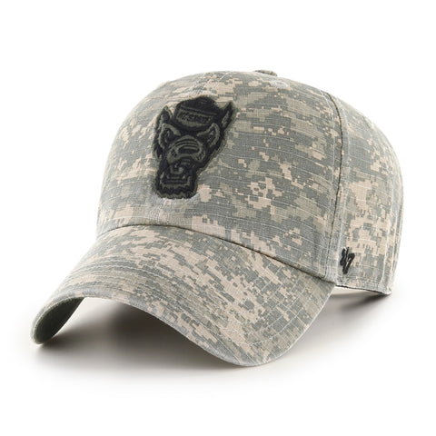 NC State Wolfpack 47 Brand OHT Digital Camo Nilan Clean Up Adjustable Hat